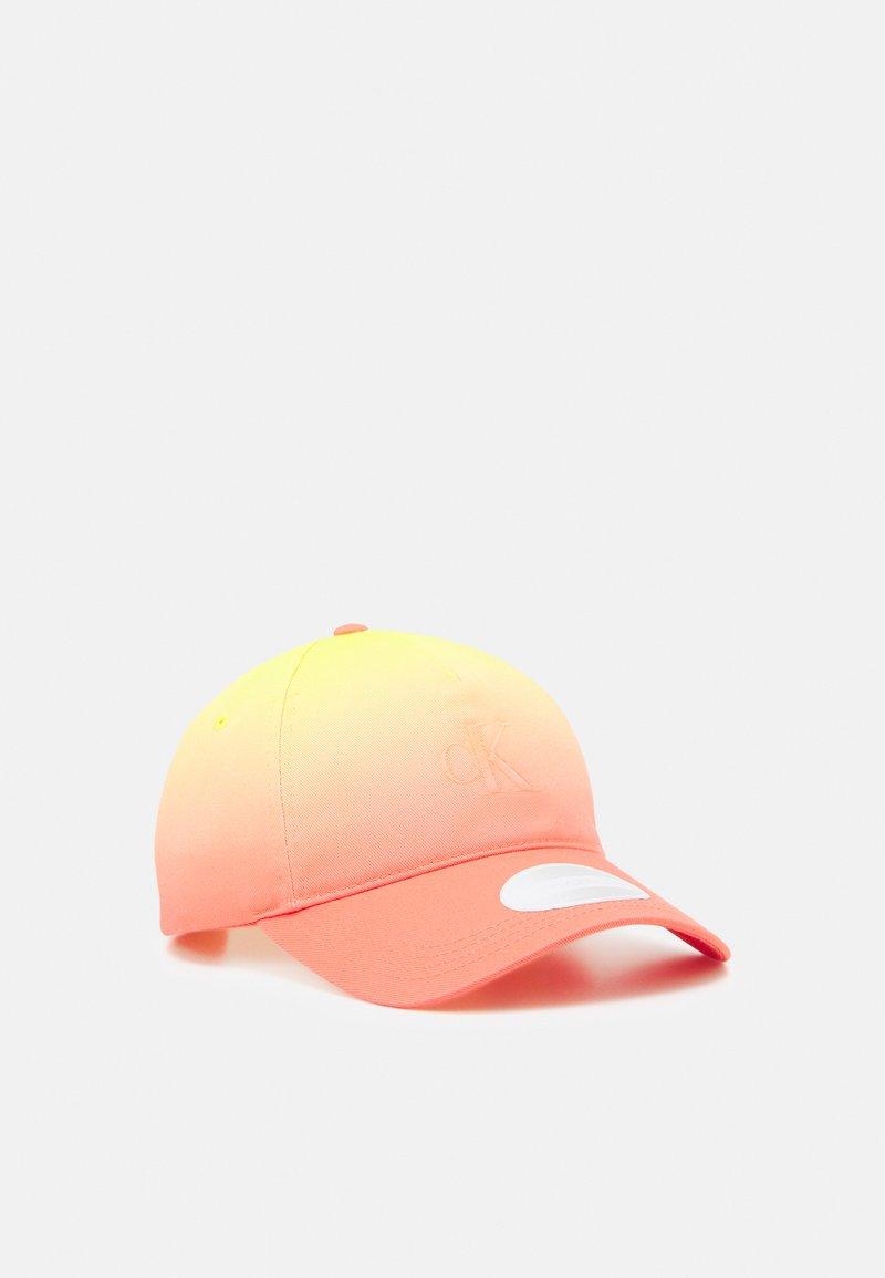 Calvin Klein Jeans - DEGRADE - Cap - orange