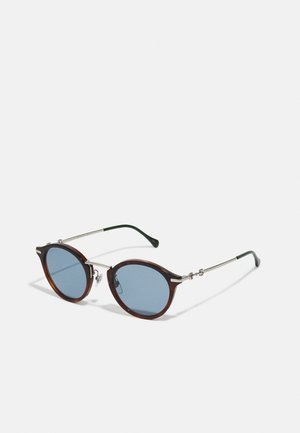 UNISEX - Sunglasses - havana/silver-coloured/blue