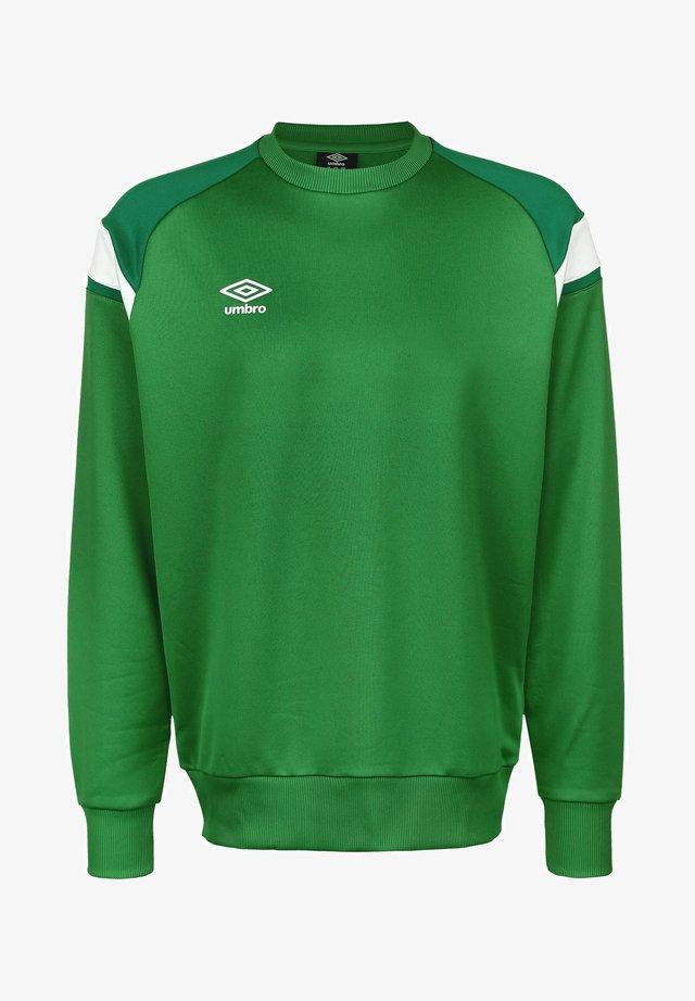 Sweatshirt - tw emerald / lush meadows / brilliant white