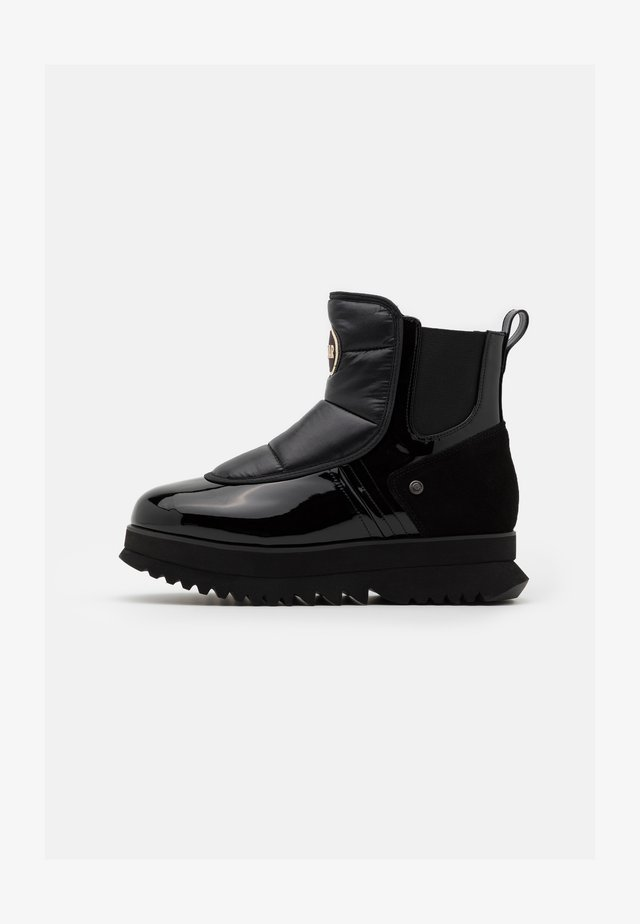 CLAUDIE - Bottines à plateau - black