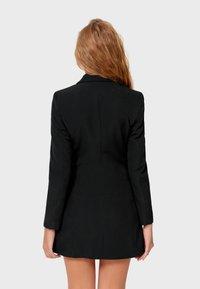 Stradivarius - Short coat - black - 2