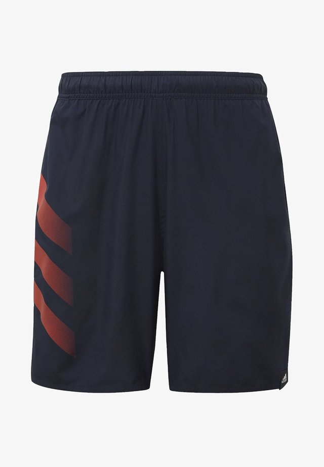 BOLD 3-STRIPES CLX  - Badeshorts - blue