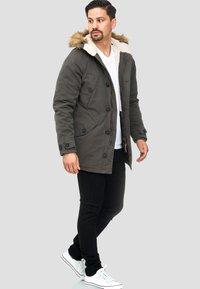 INDICODE JEANS - Winter coat - anthracite - 1