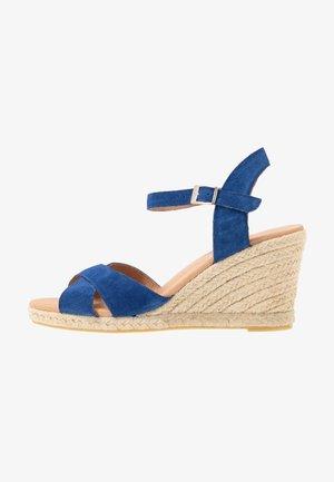 DORIT - Sandály na vysokém podpatku - sea blue