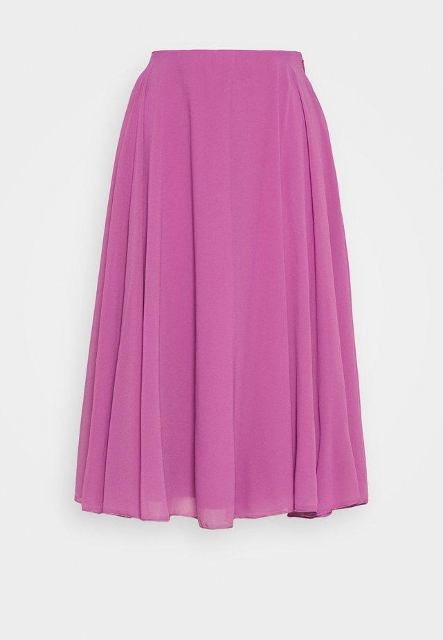 SKYE SKIRT - Spódnica trapezowa - dark lilac