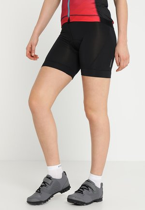 HABIT SHORT - Leggings - black