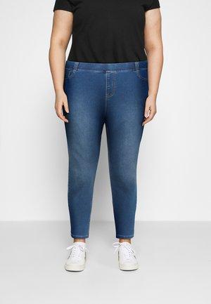 AMBER - Skinny džíny - mid blue