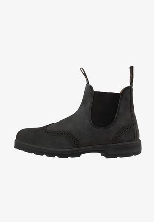 CLASSIC WINGCAP - Classic ankle boots - rustic black