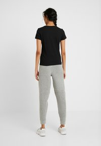 ONLY Tall - ONLPURE LIFE O NECK 2 PACK - Basic T-shirt - black/bright white - 2