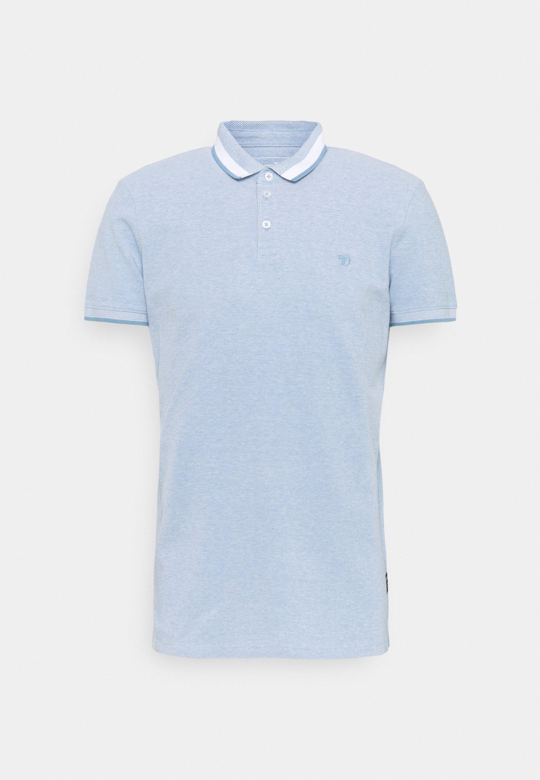 Men TWO TONE EFFECT - Polo shirt