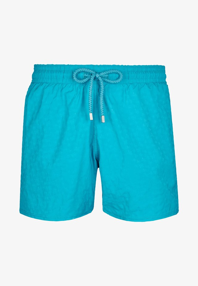 DES TORTUE - Swimming shorts - light azure