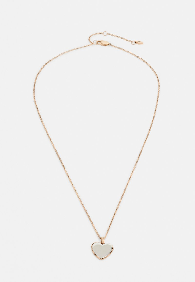 Fossil - VINTAGE ICONIC - Ketting - rose gold-coloured