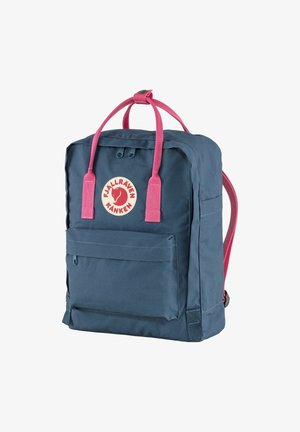 Rucksack - royal blue-flamingo pink