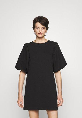 MINA DRESS - Denní šaty - black