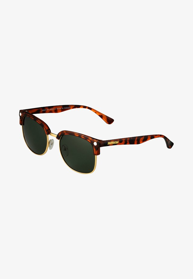RUMI  - Gafas de sol - turtle brown/green
