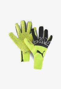 Puma - Goalkeeping gloves - yellow alert-black-white - 0