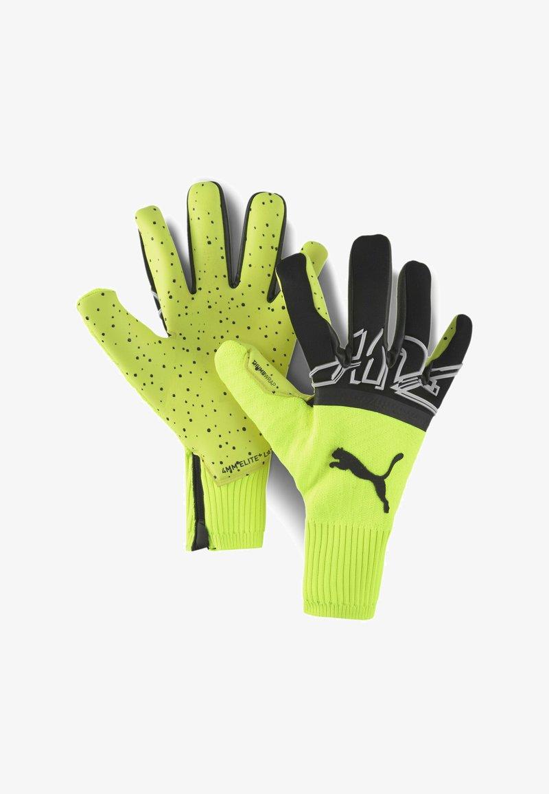 Puma - Goalkeeping gloves - yellow alert-black-white