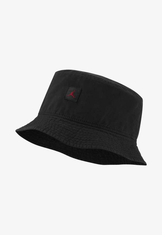 BUCKET WASHED - Hoed - black