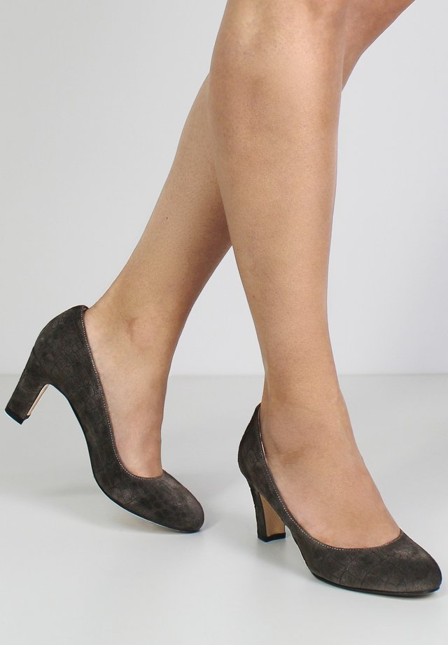 Klassieke pumps - brown/grey