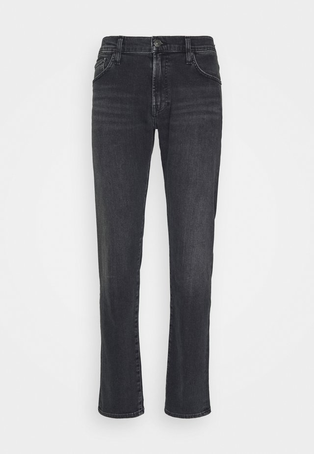 ADLER - Jean slim - woodsmoke dark medium grey