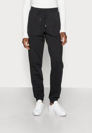 SLFSTASIE MW SWEATPANT NOOS - Pantalon de survêtement - black