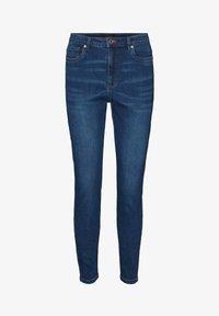 Vero Moda - Jeans Skinny Fit - dark blue denim - 5