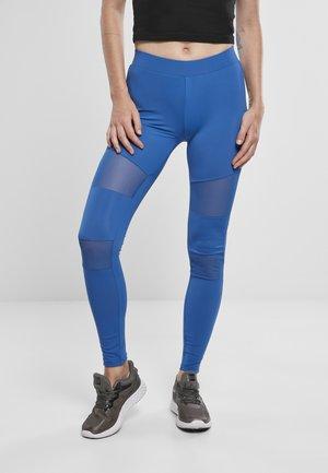 TECH - Leggings - Trousers - sporty blue