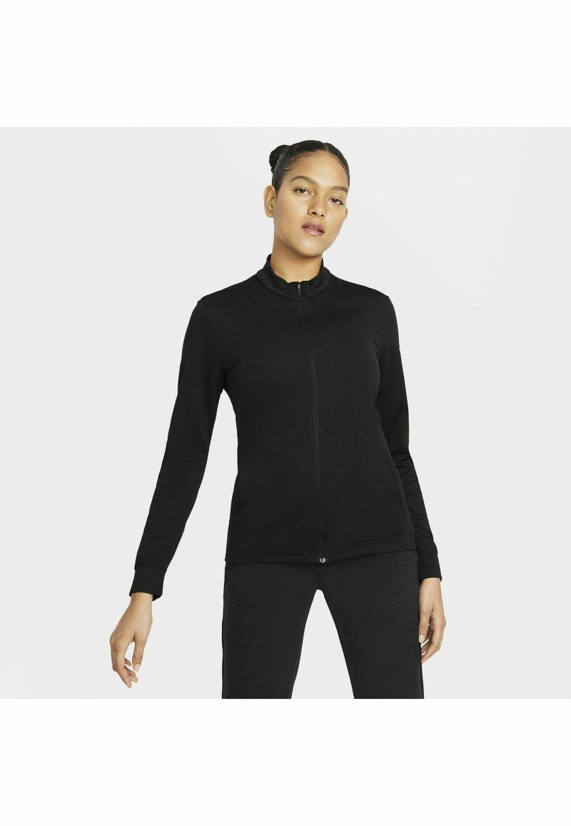 Nike Golf - Zip-up hoodie - black/white