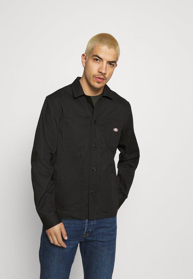 FUNKLEY - Summer jacket - black