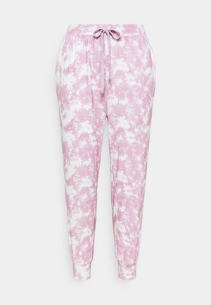 SUPER SOFT SLIM FIT PANT - Tracksuit bottoms - mellow mauve
