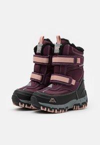 Kappa - BONTE TEX UNISEX - Zimní obuv - purple/rosé - 1