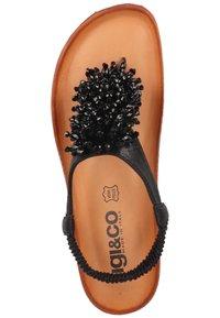 IGI&CO - T-bar sandals - nero - 3