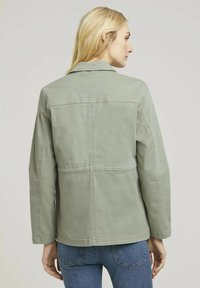 TOM TAILOR - Summer jacket - prairie grass green - 2