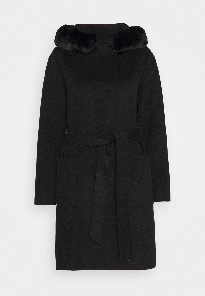 Lauren Ralph Lauren - DOUBLE FACE FAUX  - Classic coat - black