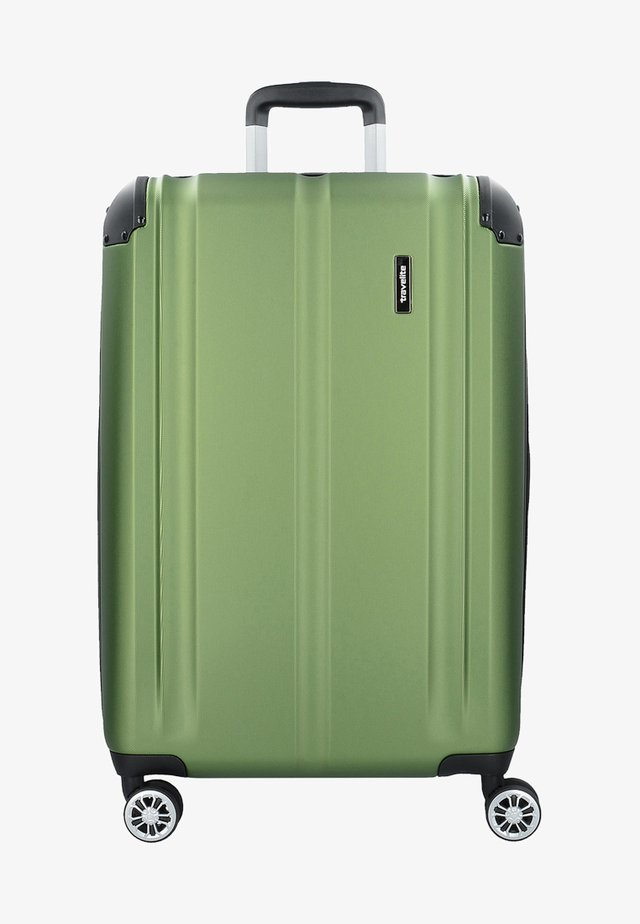 CITY  - Wheeled suitcase - green