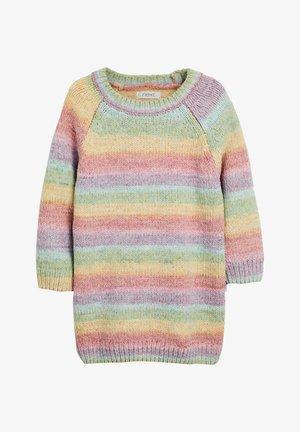 Abito in maglia - multi coloured