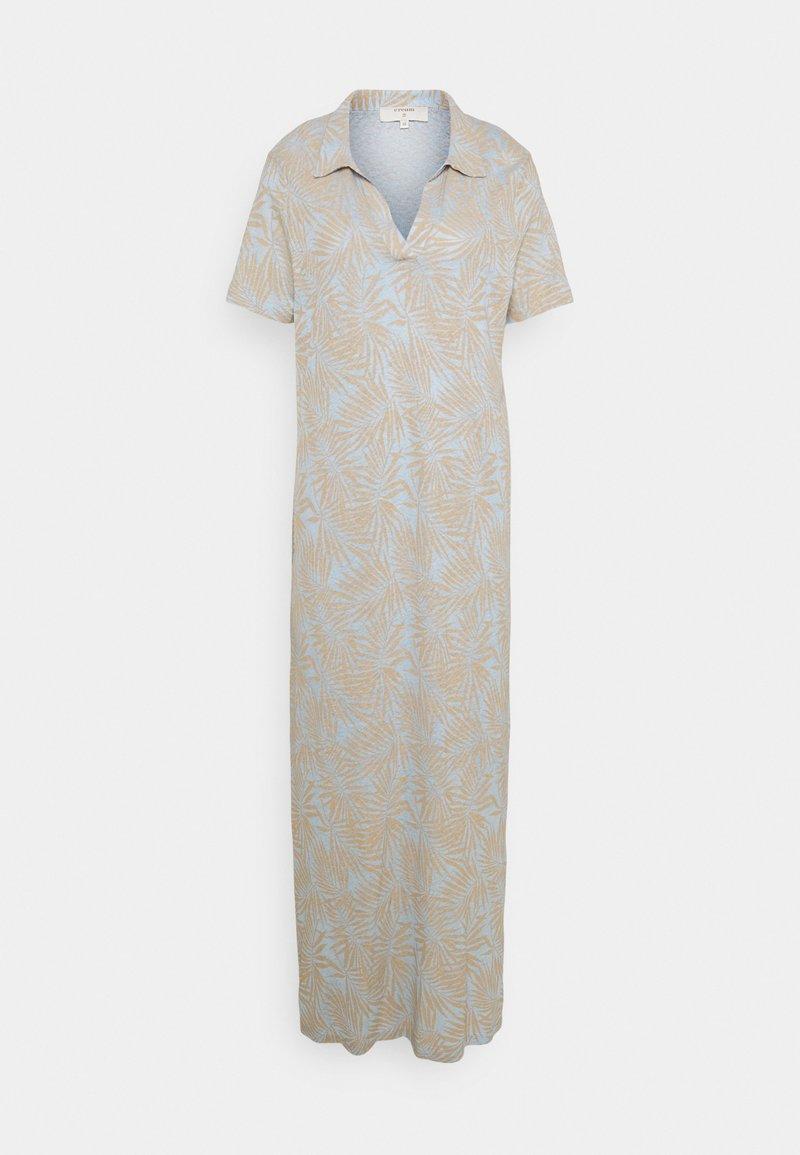 Cream - LUNA DRESS - Maxi dress - blue