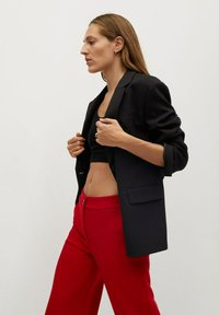 Mango - SIMON-I - Trousers - rood - 5