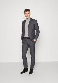 Selected Homme - SLHSLIM-MYLOLOGAN  - Anzug - dark grey - 1