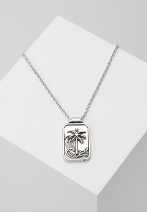 BUENOS NOCHES NECKLACE - Halsband - silver-coloured