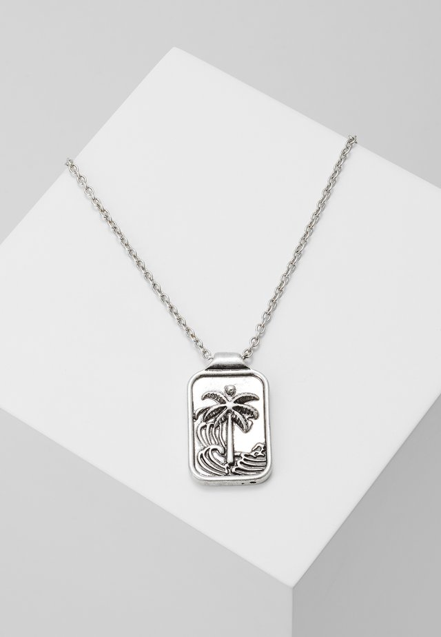 BUENOS NOCHES NECKLACE - Ketting - silver-coloured