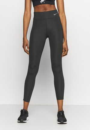 FASTER 7/8 - Leggings - dark smoke grey/gunsmoke