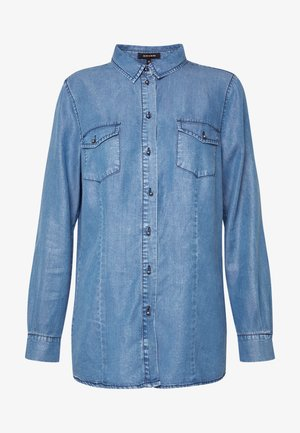 BLOUSE - Skjorte - denim blue