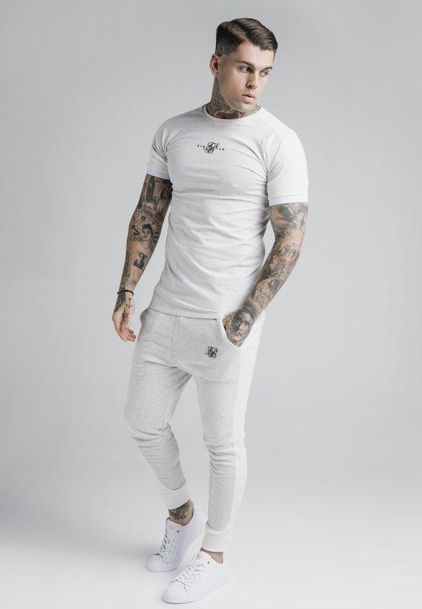 SIKSILK UNITE GYM TEE - T-shirt basic - grey marl/szary melanż Odzież Męska SHBZ