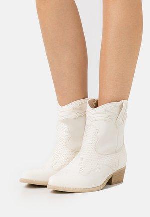 WEST - Cowboy-/Bikerlaarsjes - off white