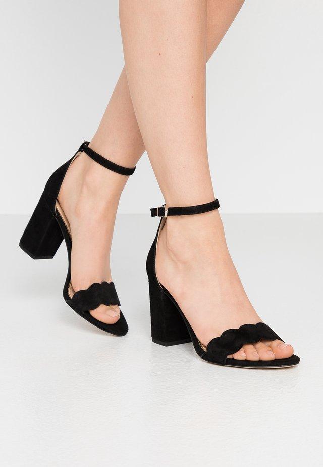 Odila - Sandalen met hoge hak - black