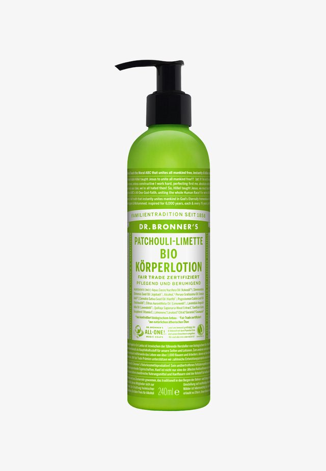 BIO BODY LOTION 240ML - Balsam - patchouli-limette