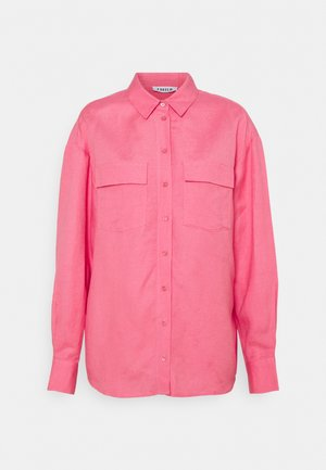 SAVANNA SHIRT - Button-down blouse - pink