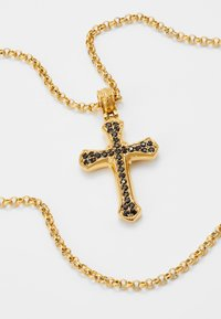 Nialaya - CHAIN WITH CROSS PENDANT - Necklace - gold-coloured - 4