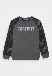 Name it - NKMFORTNITE THIAGO - Sweatshirt - dark grey melange - 0